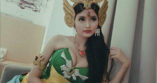 Kadita cosplay mobile legend paling cantik di dunia