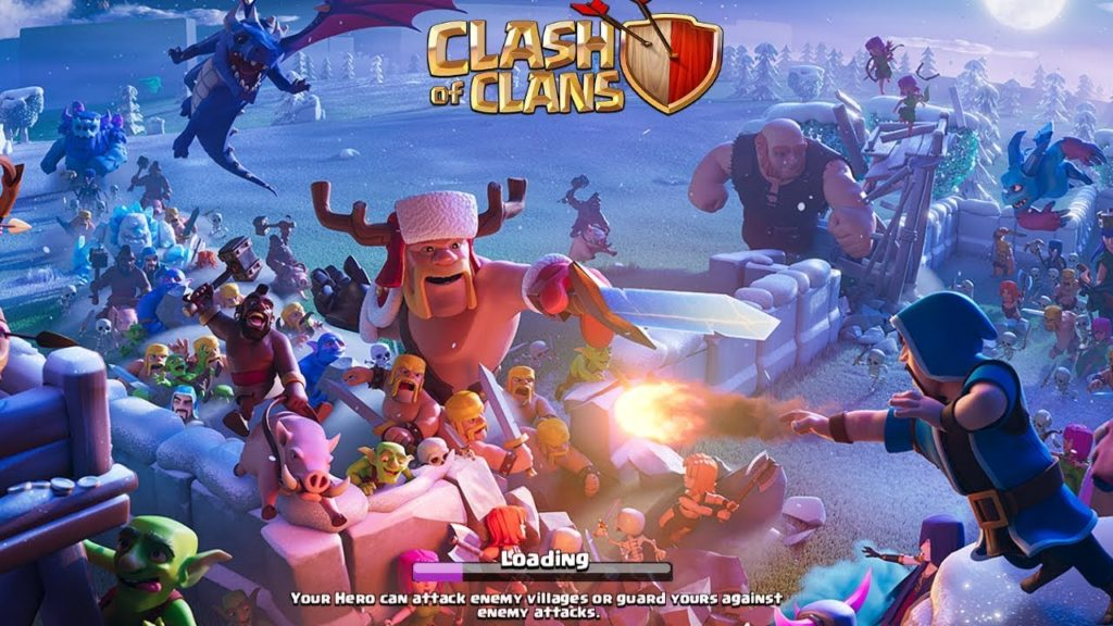 Game online terbaik COC (Clash of Clans)