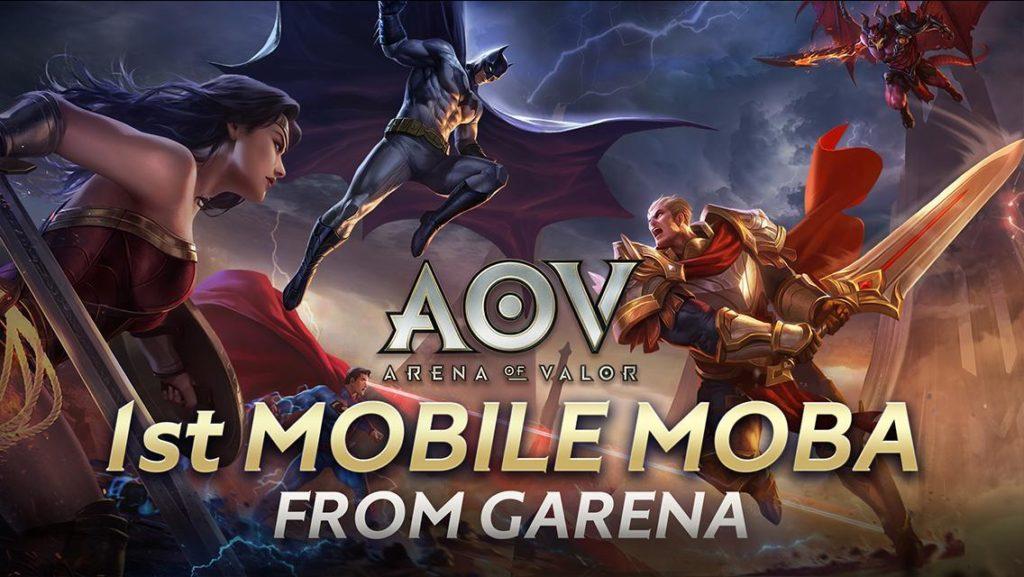 Game Online Garena AOV (Arena of Valor).
