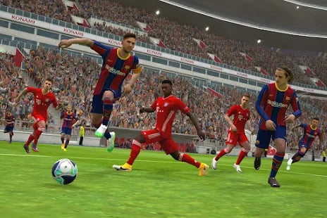 eFootball PES 2021, game android terbaik