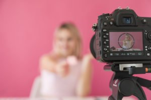 content creator video