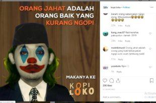 5 Meme Joker Instagram Paling Lucu, Apa Saja Itu ?