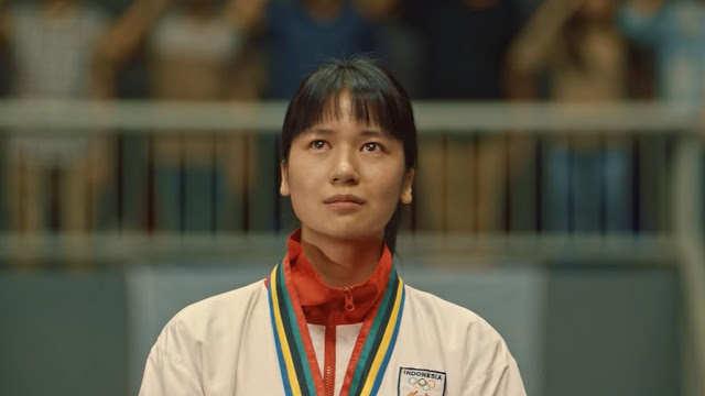 Film tokoh olahraga Indonesia. Laura Basuki kala memerankan Susi Susanti