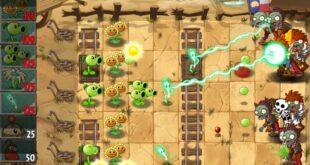 game offline terbaik paling seru, Plant vs Zombies 2