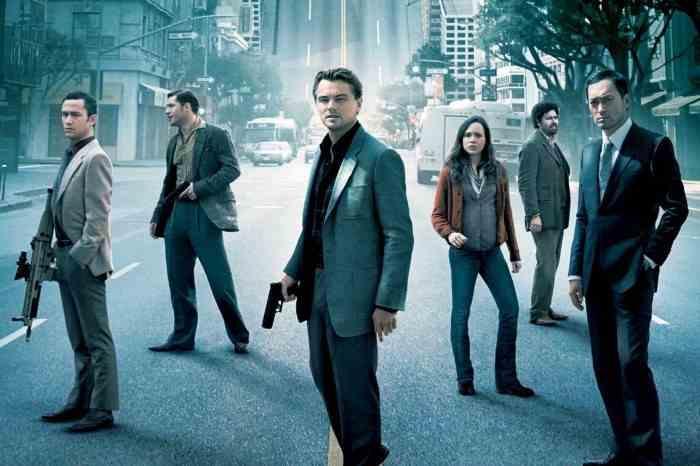 Film Leonardo DiCaprio Inception (2010)