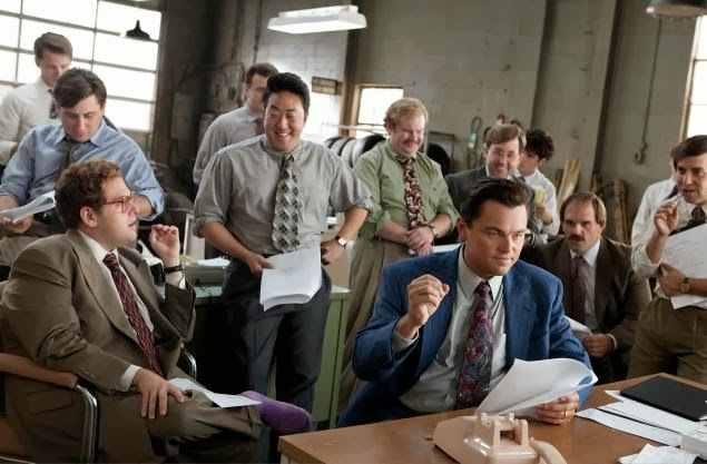 Film Leonardo DiCaprio The Wolf of Wall Street (2013)