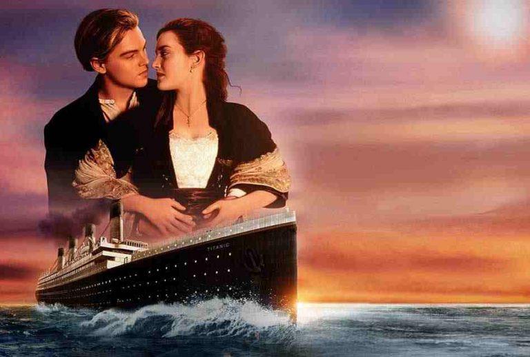 Film Leonardo DiCaprio Titanic (1997)