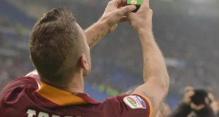Selebrasi Selfie Francesco Totti
