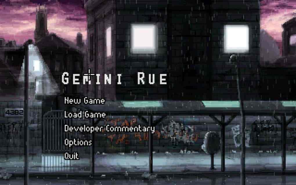game petualangan gemini rue