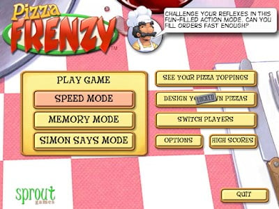 Game PC Jadul Pizza Frenzy