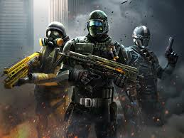 Game perang android online Modern Combat 5