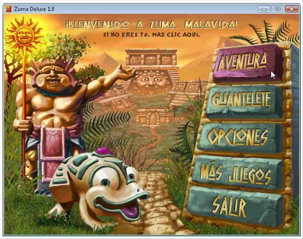 game pc jadul Zuma Deluxe, game zaman dulu