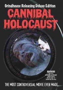 Film Cannibal Holocaust (1980), film kanibal paling seram.