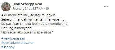 Kalimat Cinta Fahri Skroepp Terbaru