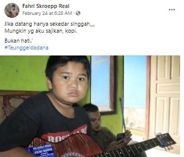 Status Fahri Skroepp Terbaru