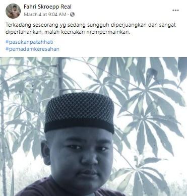 Qoutes Fahri Skroepp Terbaru