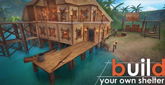 Survival Island, EVO – Survivor building home