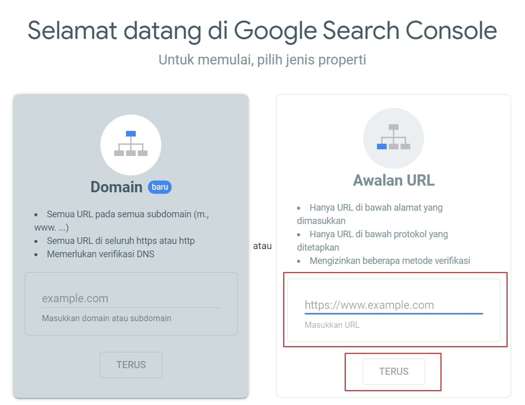 Cara Mendaftarkan Website Ke Google Webmaster
